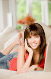 Woman At Home Stock Photography