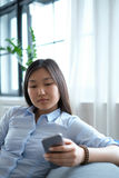 Woman at home Royalty Free Stock Image