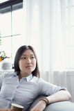 Woman at home Royalty Free Stock Photo