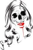 Woman horror vector Stock Photo