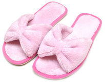 Woman house slippers Stock Photography