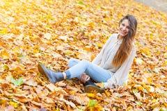 Woman at Hyde Park Stock Photos