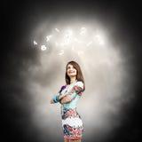 Woman i Royalty Free Stock Photography