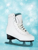 Woman ice skate Stock Photography