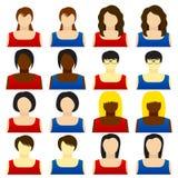Woman icon Stock Photo