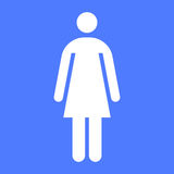 Woman icon Royalty Free Stock Images