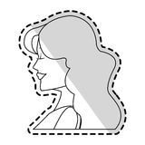 Woman icon image Royalty Free Stock Image