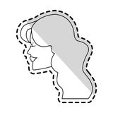 Woman icon image Royalty Free Stock Images