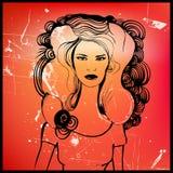 Woman illustration Royalty Free Stock Image