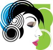Woman illustration. Royalty Free Stock Photo