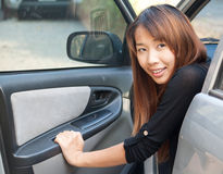 Free Woman In Car Royalty Free Stock Image - 23949946