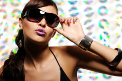 Free Woman In Fashion Style Sunglasses Stock Photos - 11736603