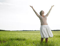 Free Woman In Field Royalty Free Stock Photos - 12579978