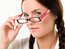 Free Woman In Glasses Stock Image - 17419481
