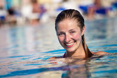 Free Woman In Pool Stock Images - 14938344