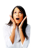 Woman In Shock Royalty Free Stock Photo