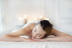 Free Woman In Spa Salon Royalty Free Stock Photography - 95893587