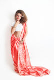 Woman in Indian fashion Stock Photos