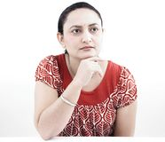 Woman of indian origin Stock Images