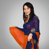 Woman in indian traditional clothing Stock Photography