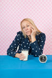 Woman with insomnia Royalty Free Stock Photos