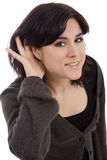 Woman isolate Royalty Free Stock Photos