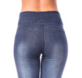 Woman with jeans Stock Photo
