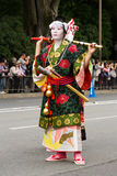 Woman at Jidai Matsuri festival in Japan Stock Photos