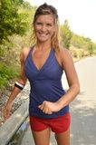 Woman Jogger Stock Image