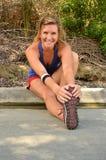 Woman Jogger Royalty Free Stock Image