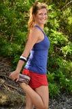 Woman Jogger Royalty Free Stock Photos
