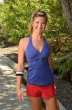 Woman Jogger Stock Photo