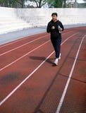 Woman Jogger Brooklyn New York USA Stock Image
