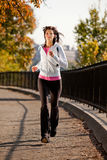 Woman Jogging Royalty Free Stock Image