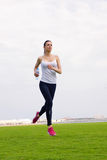 Woman jogging at morning Stock Photography