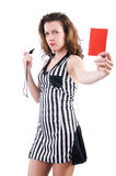 Woman judge Royalty Free Stock Photos