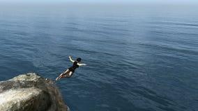 Woman jumping Stock Photos