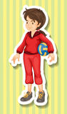 Woman in jumpsuit holding volleyball Royalty Free Stock Images