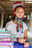 Woman of karen tribe Stock Photo