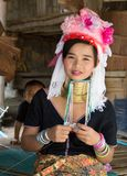 Woman of karen tribe Stock Images