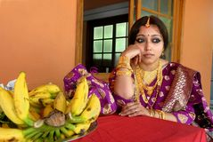 Woman of Kerala Stock Photos