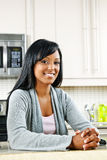 Woman in kitchen Royalty Free Stock Photos