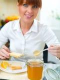 Woman in Kitchen Stock Photos