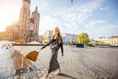 Woman in Krakow Stock Photos