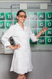 Woman in the lab Stock Photos