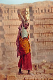 Woman Labour In India Royalty Free Stock Images