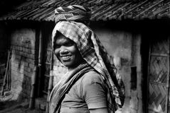 Woman Labour In Indian Brick-field stock photos