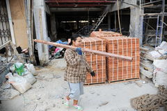 Free Woman Labourer Royalty Free Stock Photography - 47177127