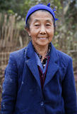 Woman in Laos. A Portrait of a Lao Woman in Viang Xai in Laos Stock Images