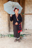Woman from Laos, ethnic group Phu Noy Royalty Free Stock Images